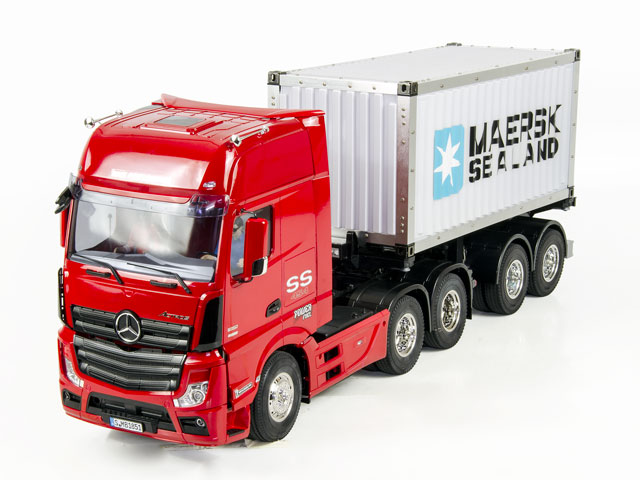 Benz 1851 + 20FT Container Semi Trailer 016