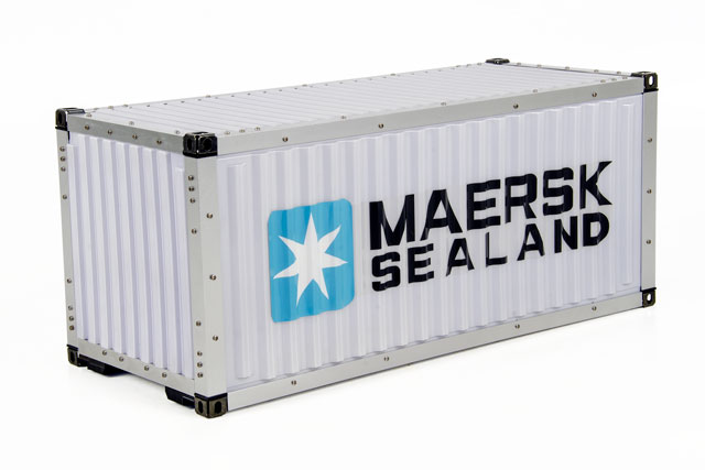 Hercules Hobby 20FT Container #HH-140407A 005
