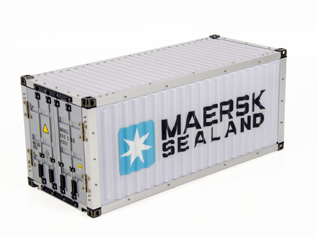 Hercules Hobby 20FT Container #HH-140407A 007