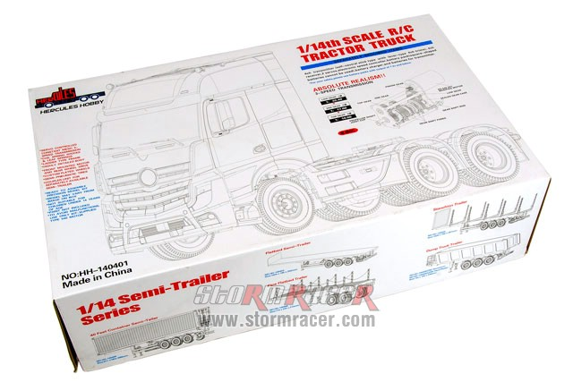 Hercules Hobby 1/14 3 Axial Tractor Truck #HH_140401 001