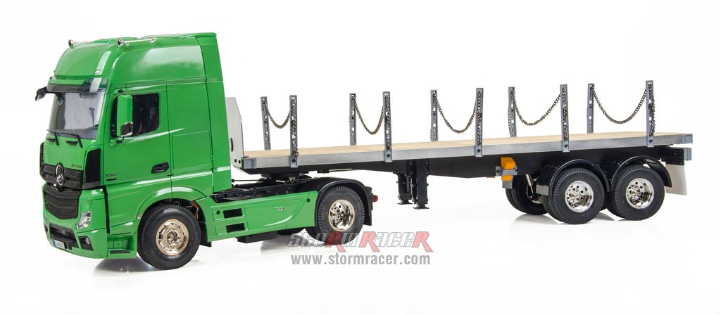Hercules Hobby 2 Axial Tractor + 2 Axial Flatbed Trailer 002