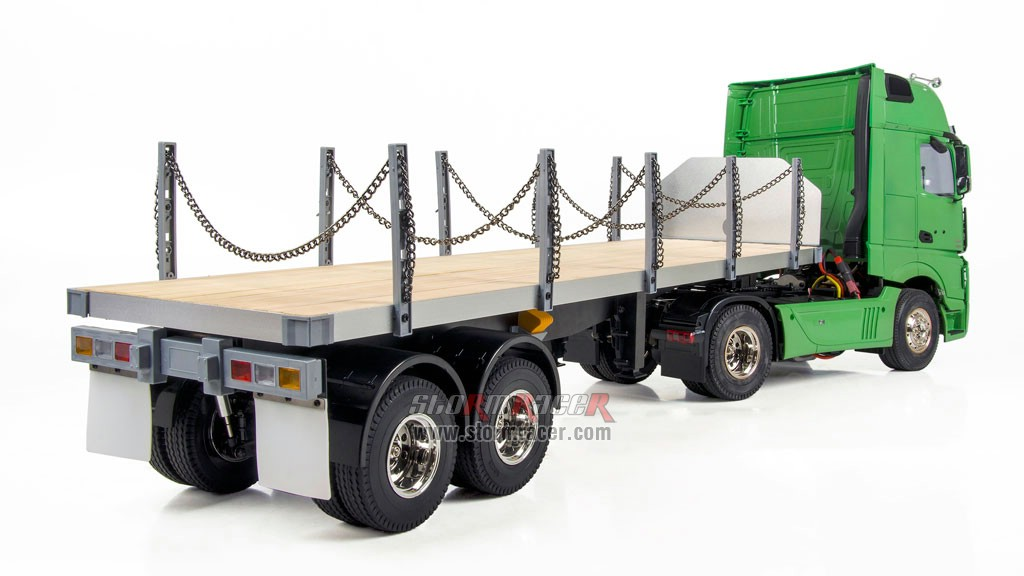 Hercules Hobby 2 Axial Tractor + 2 Axial Flatbed Trailer 006