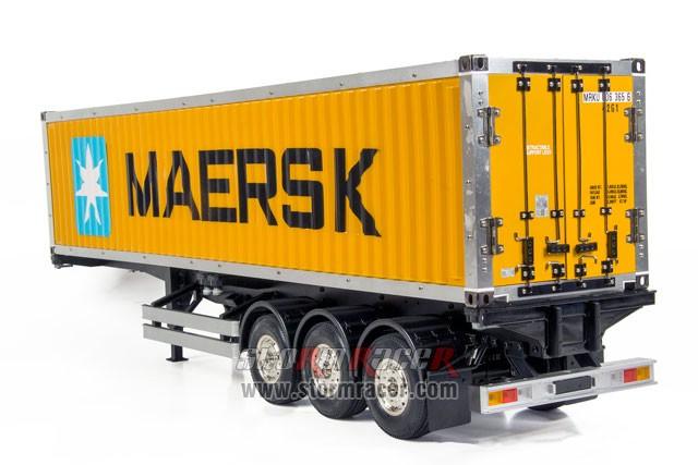 Hercules Hobby 40 Foot Container Semi Trailer #HH-140405 005