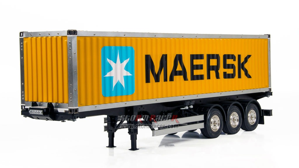 Hercules Hobby 40 Foot Container Semi Trailer #HH-140405 007