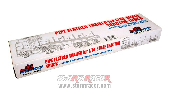Hercules Hobby 2 Axial Flatbed Trailer (Box) #HH-140406A 001