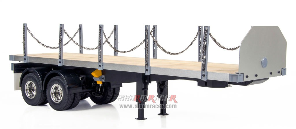 Hercules Hobby 2 Axial Flatbed Trailer (Box) #HH-140406A 004
