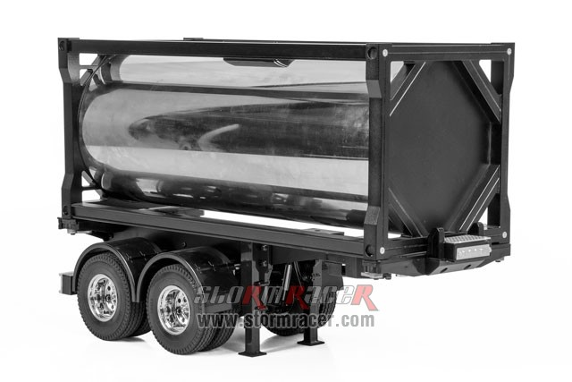 Hercules Hobby Full Metal 20 Foot Fuel Tank Trailer #HH-140410 001