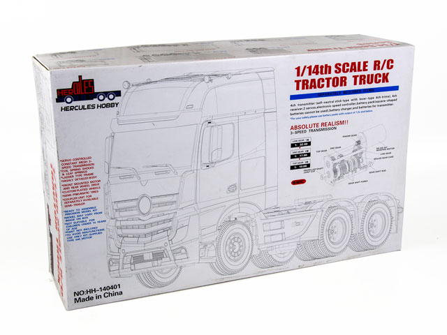 Hercules 2 Axial Tractor Truck (1/14 RTR) 001