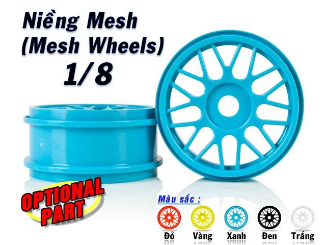 Hongnor 1/8 Mesh Wheel #332 (2P)