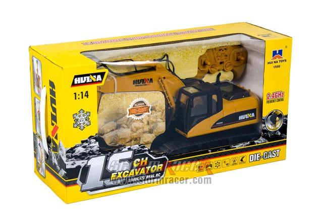 1/14 RC Excavator with 15CH Radio (HuiNa#1550) 000
