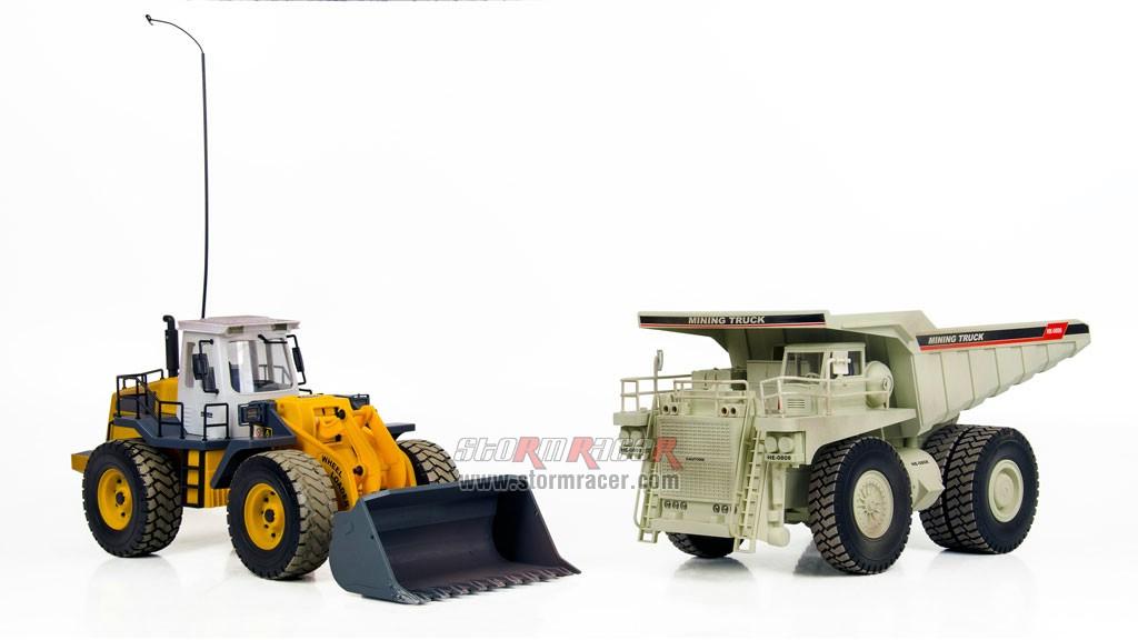 Combo Wheel Loader + Mining Truck 002