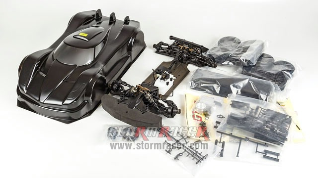 Hongnor X3-GT Nitro Racing Kit 80% 002