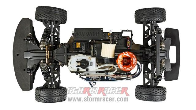 Racing Nitro X3-GTR 120km/h RTR 002
