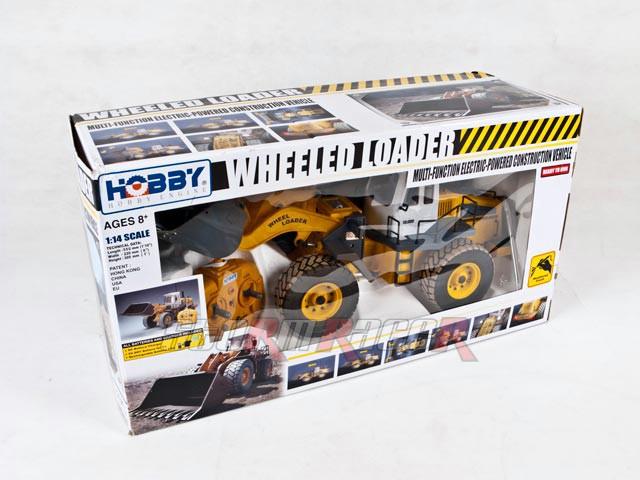 Xe xúc đất Wheel Loader #0806 (1/14RTR)