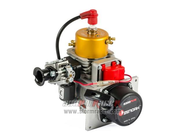 Zenoah Engine 300PUM 30cc for boat có bộ giật trợ lực