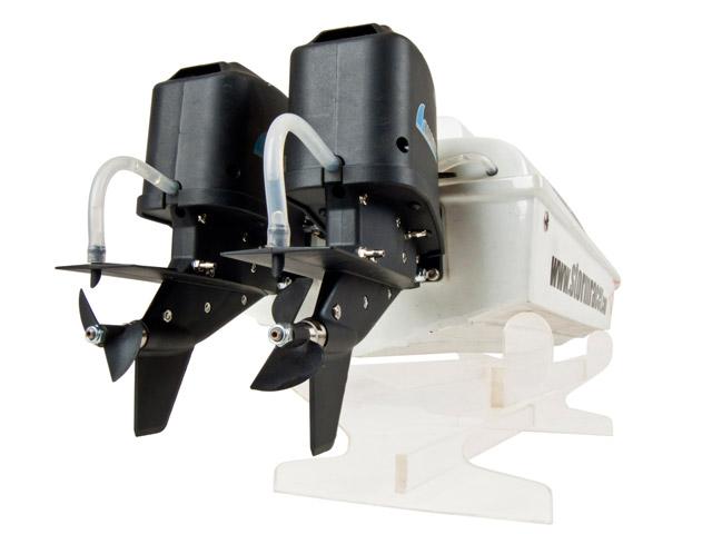 Hàng Độc Khó Kiếm: Động Cơ Tàu RC Out-Board Brushless giá 3,200,000đ/bộ Twin-Outboard_Electric_Boat_009
