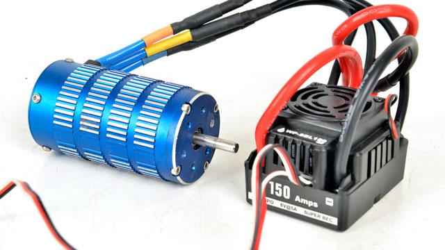 Combo Motor + ESC 150A _STO4803