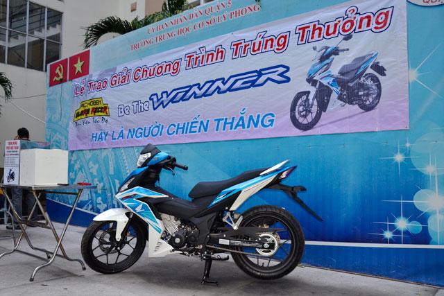 Giải Đặc Biệt Là 1 Chiếc Xe Honda Winner 150cc